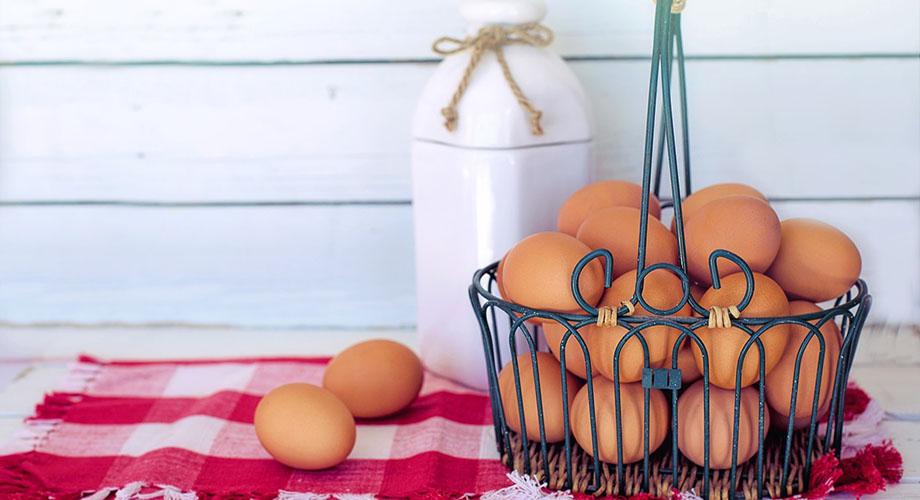 Alimentos buenos para la piel: huevos